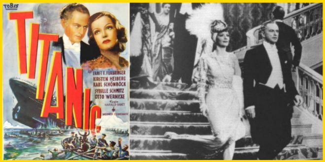RMS TITANIC – Germany's 1943 Nazi feature film of the famous ship.