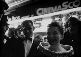 Judy Garland's A STAR IS BORN fabulous world premiere in 1954