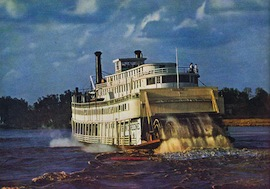 1949: 3-Week MISSISSIPPI Cruise aboard the steamboat GORDON C. GREENE – Ten Dollars a Day!
