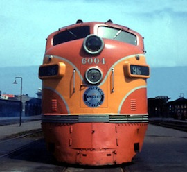 Southern Pacific's COAST DAYLIGHT was America's most beautiful train!