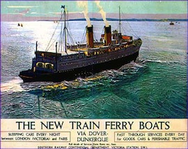 "THE ""NIGHT FERRY"" carried the DUKE AND DUCHESS OF WINDSOR from LONDON TO PARIS…"