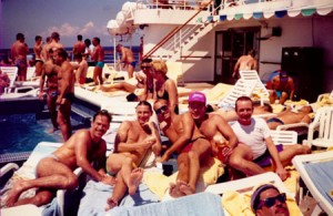 1987: The first gay cruise… 28 years ago…