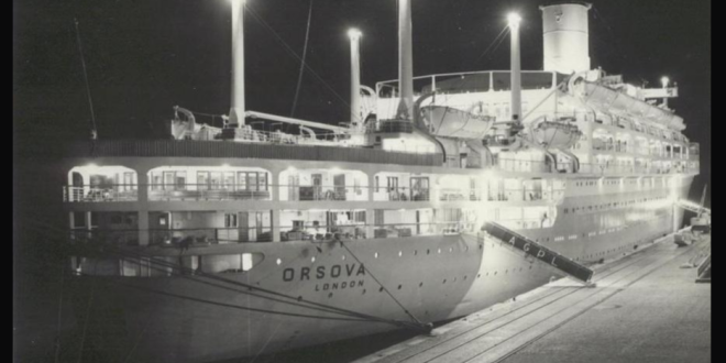 Cruising in the 1950s and 1960s from England to Australia…