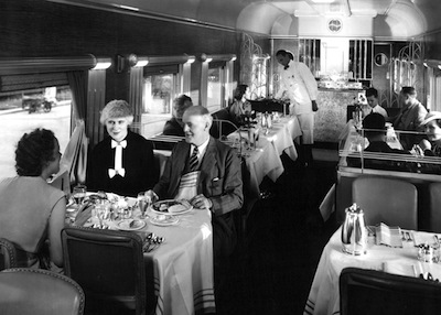 The Southern Pacific's Streamlined Coast Daylight – America's most beautiful train!