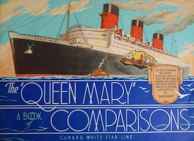 Happy Christmas… Aboard a Cunard Line ship… 1920s…