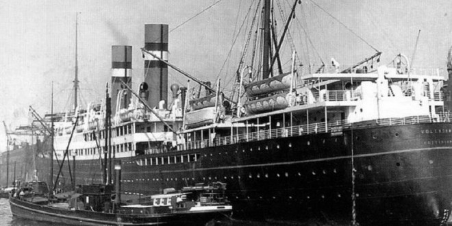 SS Volendam… from Holland to New York…