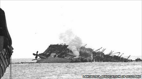 RMS Lancastria: Worst maritime disaster in British history hushed up for 75 years…