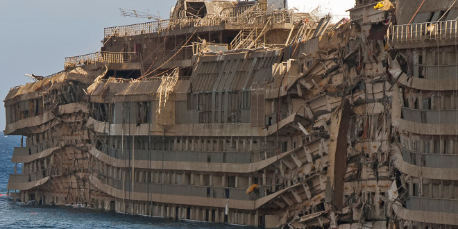 THE CONCORDIA – Chilling photos of the doomed ship
