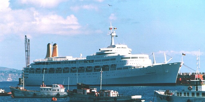 The SS Canberra – Last of the liners…