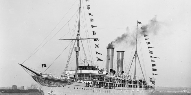 The World S First Cruise Ship The Prinzessin Victoria