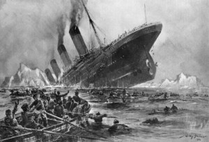 RMS Titanic's abandoned bodies…