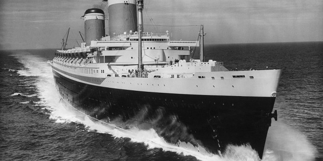 Mid-Century style and fire safety on the SS United States. Crystal Cruises saves America's last great ocean liner