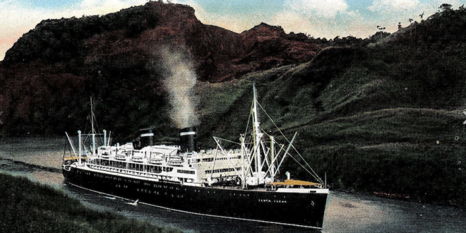 History of the GRACE LINE – Part 1- One of America's great passenger ship fleets