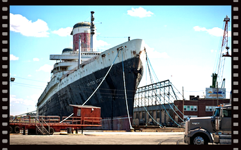 The SS United States and the latest Range Rover have a lot in common.