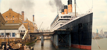 Longest serving Cunard ship: RMS Aquitania