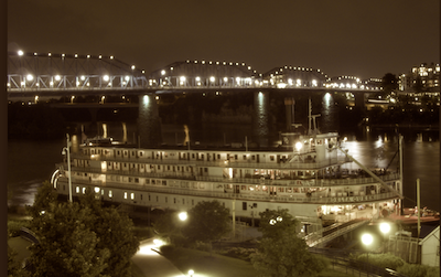 Cruises in America and Canada during the 1950s