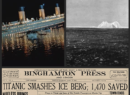 "Photos of the RMS TITANIC rescue and the ""Unsinkable"" Molly Brown sold at auction for US 42 K"
