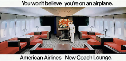 Throwback Thanksgiving Thursday: When flying was fun in economy class and not a nightmare.