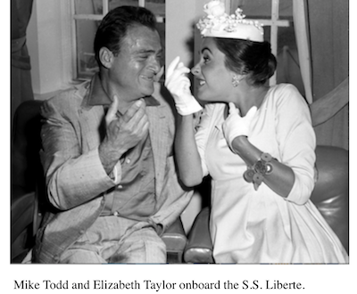 SS LIBERTE – Crossing the Atlantic with Elizabeth Taylor and all the stars!