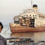 peter knego, aureol, elder dempster, marine historian, cruise line history, cruise history, cruising the past, michael l grace, alang, india, mid ship century, mid century