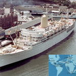 RMS ARCADIA, P&O LINES, ORIENT LINES