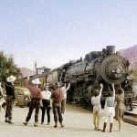 Palm Springs, Pullman, Southern Pacific Railroad, Santa Fe Railroad, Sunset Ltd., Super Chief, El Capitan, Lucille Ball, Bob Hope, Frank Sinatra, Elvis Presley