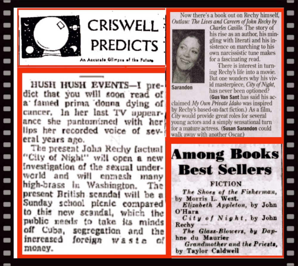 Chrisswell Predicts, City of Night