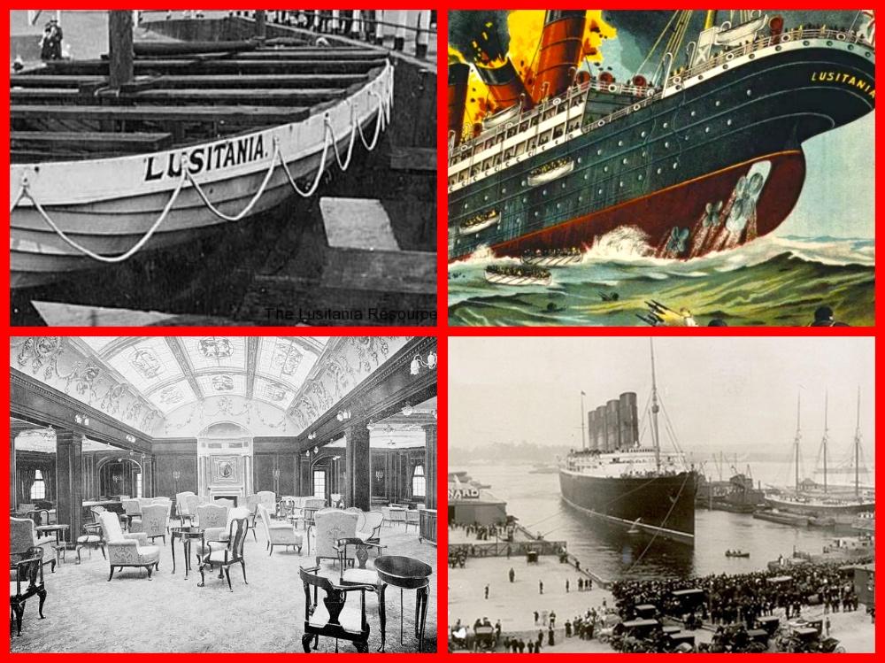 Lusitania, World War 1, Germany, War, Ship disaster