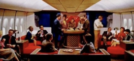 Brief History of American Airlines – Piano Bar on the 747