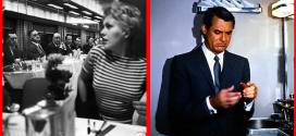 Cary Grant, Eva Marie Saint, James Mason and Kim Novack onboard the 20th Century Limited