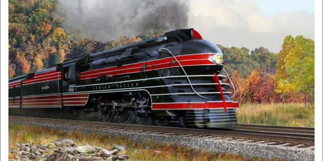 Kuhler, Dreyfuss, and Loewy – Modernism, Streamliners, and Art Deco Trains