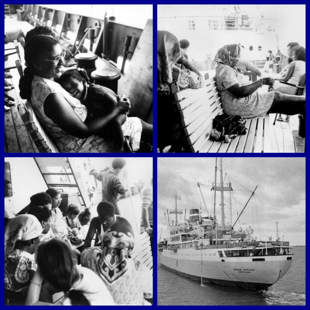 "MS ORANJE NASSAU, ""Kon Nederlandsche Stoomboot Mij.N.V."", ""K.N.S.M."", Cargo Liners, Caribbean,"