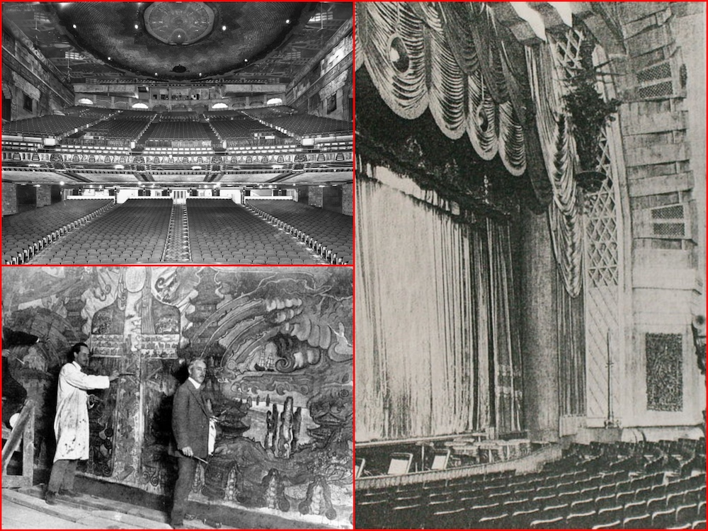 Paramount Theatre, Los Angeles, Metropolitan Theatre, Movie Palaces, RKO Hillstreet, Sid Grauman, Graman's Chinese, Pantages, Marlon Brando, Elvis Presley, Tab Hunter