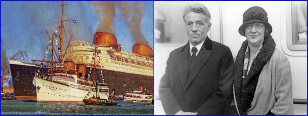 Ss Bremen, North German Lloyd, RMSMauretania, ss Columbus, ss europa, Nazi Party