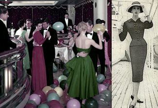 A look at Cruise Fashion in the 1950s…