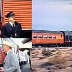 John Sturges, Spencer Tracy,Robert Ryan, Anne Francis, Dean Jagger, Walter Brennan, Lee Marvin, Ernest Borgnine. Southern Pacific, Bad Day At Black Rock, Daylight train, Streamliner, Michael Grace, Cruising the Past.
