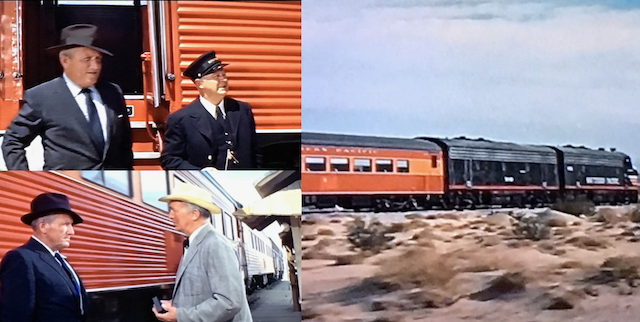 Trains in the movies: MGM's Oscar winning Bad Day at Black Rock features the Southern Pacific's Daylight