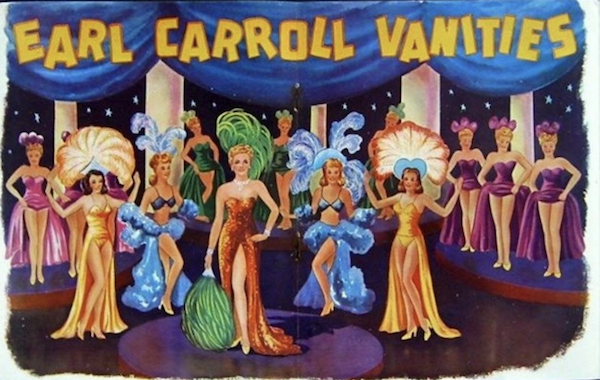 Social History: The Jazz Age, the Cafe de Paree and Earl Carroll Theatre