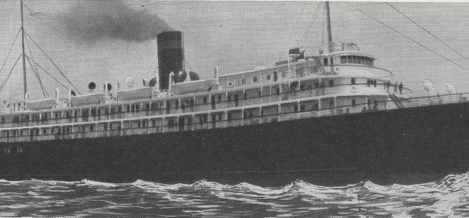 A 1929 home movie aboard the SS NANTUCKET sailing to Savannah