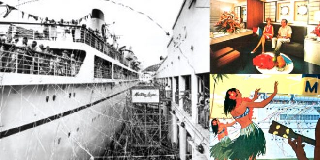 Matson Lines to Hawaii and the South Pacific during the early 1960s…
