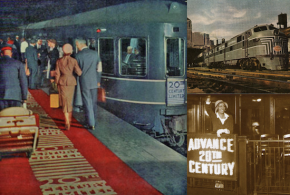 RED CARPET treatment started with the 20TH CENTURY LIMITED