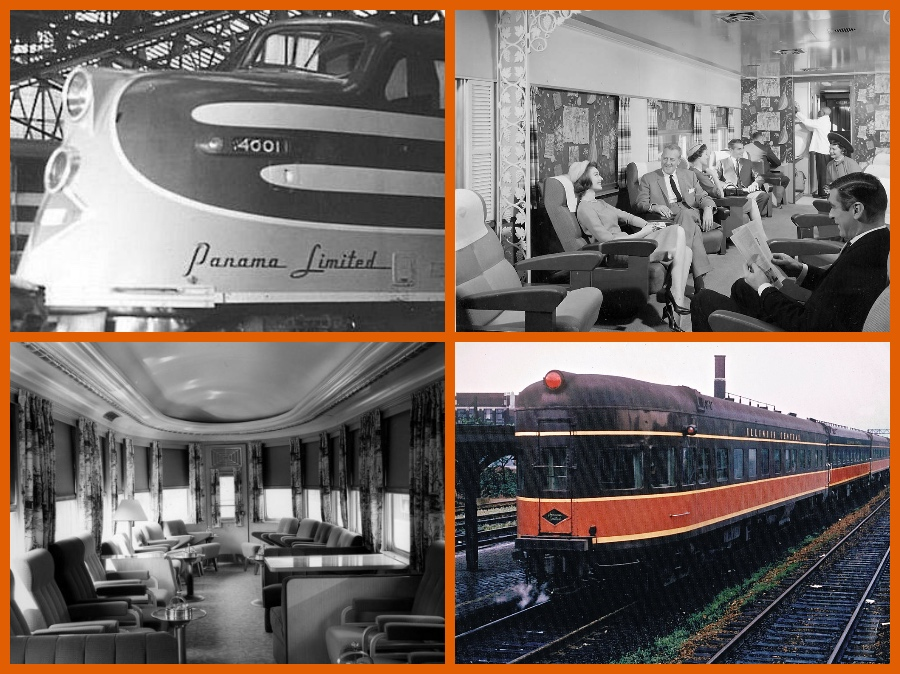 Panama Limited, Illinois Central, Michael L. Grace, Cruising The Past, Pullman, Trains, All-Pullman, Famous trains