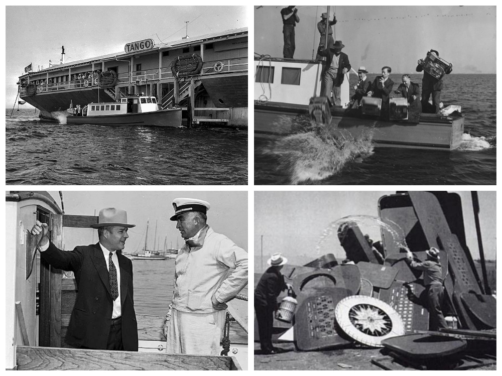 Rex, Cary Grant, Gambling Ship, Los Angeles, Cruising The Past, Michael L Grace