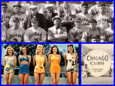 Retro Thursday: The CHICAGO CUBS cruise to Catalina