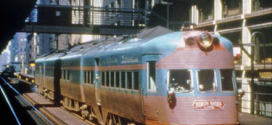 Chicago's streamlines ELECTROLINER – 90 MPH north to Milwaukee