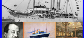 Albert Ballin created the first pleasure cruise aboard Hamburg-America Line's S.S. Augustus Victoria in the Gilded Age.