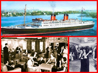 "The  luxurious liner Awatea was the ""only way to cross"" the Tasman Sea from Australia to New Zealand!"