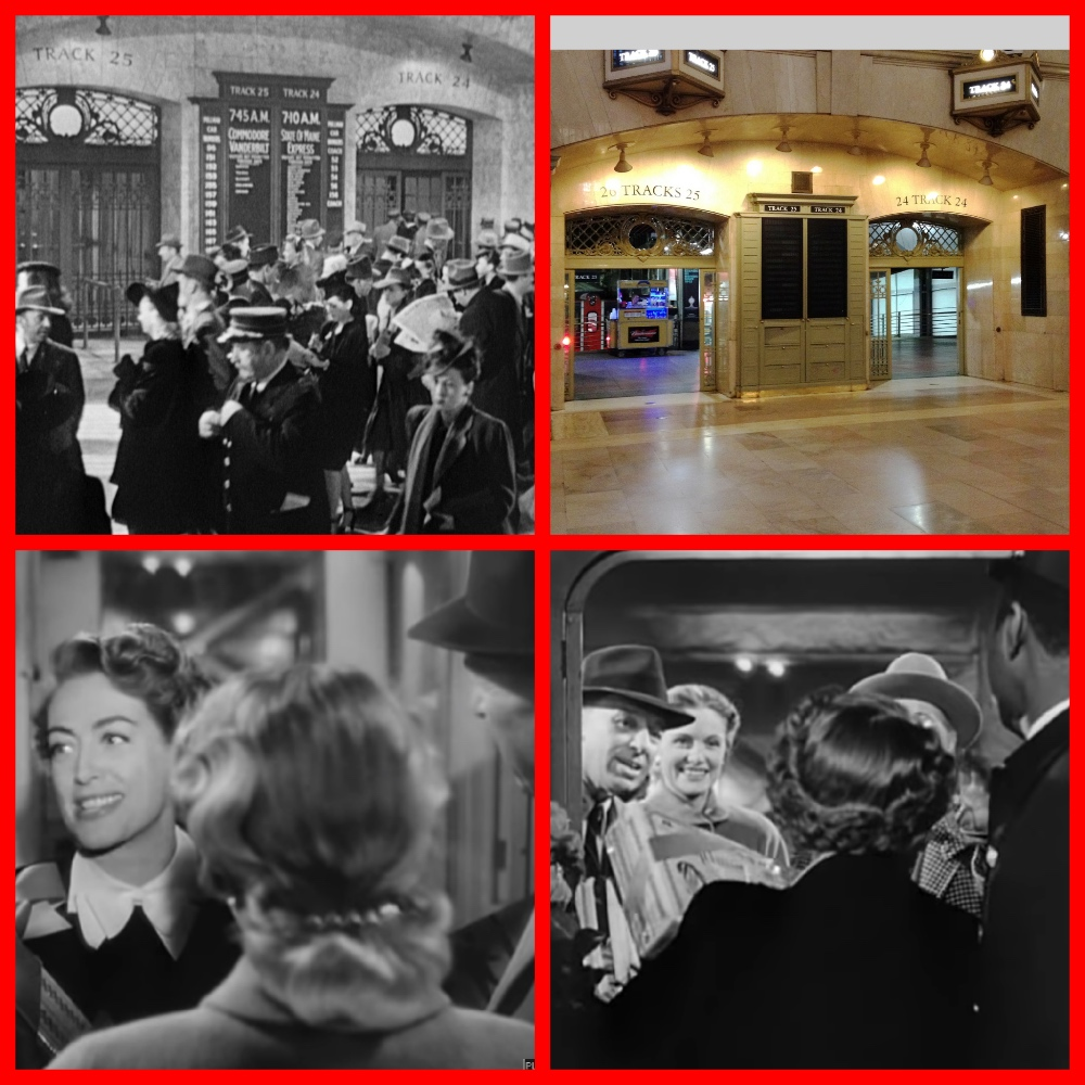 Columbia Pictures, SUDDEN FEAR, Joan Crawford , Jack Palance,Grand Central Station, Oakland Mole, San Francisco, ferry boat, California Zephyr, New York Central, Chicago, Burlington & Quincy (the Burlington Route), Denver & Rio Grande Western (Rio Grande), Western Pacific , dome cars, Super Chief,City of Los Angeles,Zephyrettes,Cable Car Room,Santa,San Francisco Chief, cruising the past, cruise the past, michael l grace, cruises, Pullman, trains, streamliners SUDDEN FEAR