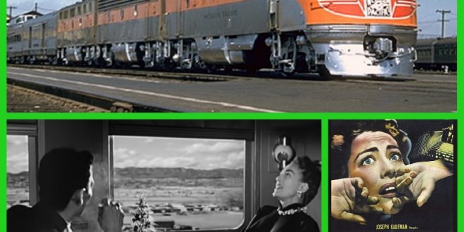 In the 1950s SUDDEN FEAR film star Joan Crawford heads to San Francisco on the famed California Zephyr.