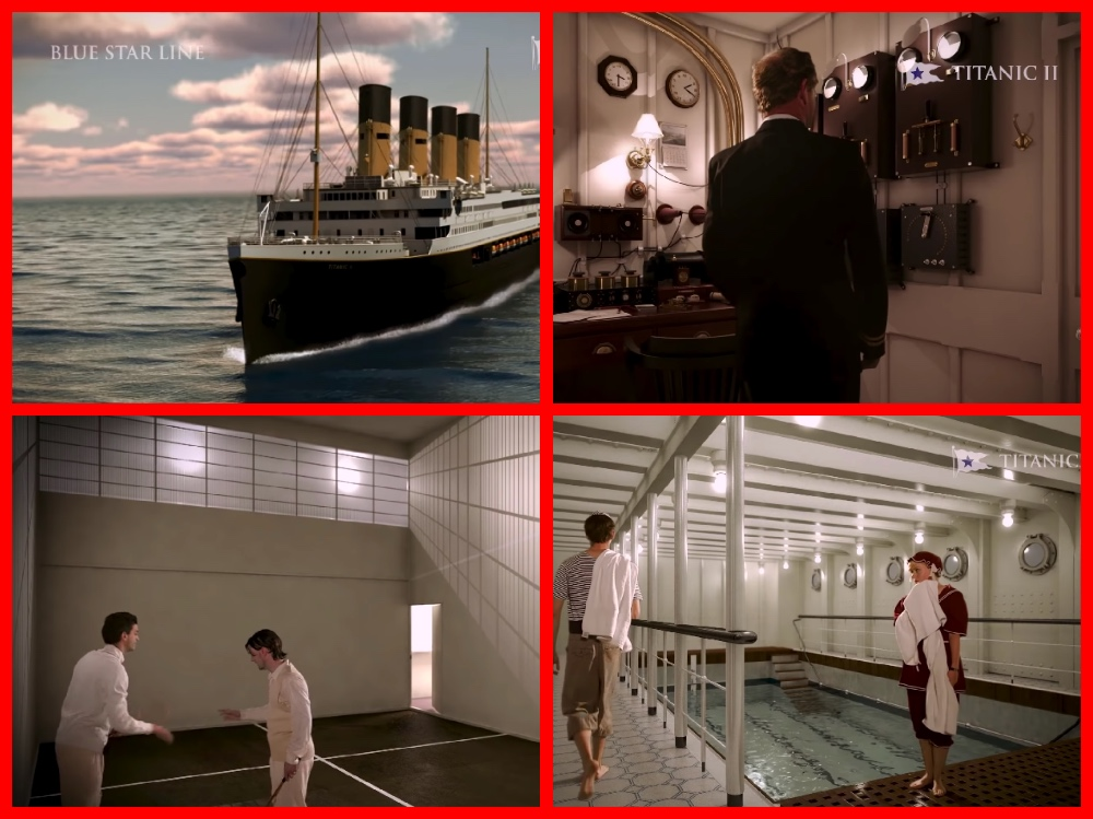 TITANIC II, TITANIC, WHITE STAR LINE, CRUISE THE PAST, MICHAEL L GRACE